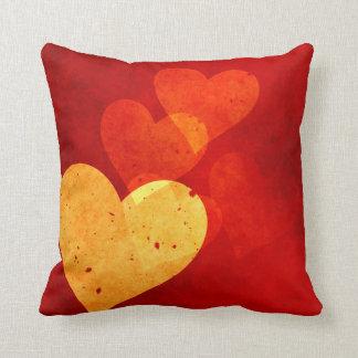 Vintage Hearts Mojo Pillow