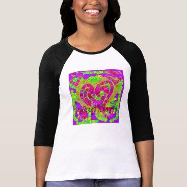 """__apples__boutique_ """"Vintage Hearts"""" Shirt"""