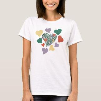 Vintage Hearts T-Shirt