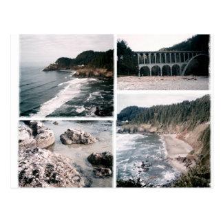 Vintage Heceta Head Oregon Postcard
