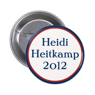 Vintage Heidi Heitkamp Button