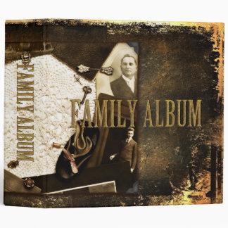 Vintage Heirlooms & Photographs Family Album 3 Ring Binder