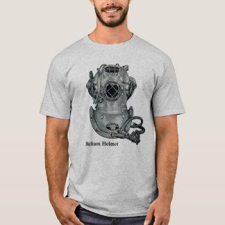 Vintage Helium Mark V Diving Helmet Illustration T-Shirt