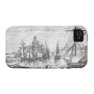 Vintage Helsinki Harbor 1830 iPhone 4/4S Vibe iPhone 4/4S Covers