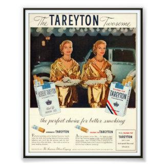 Vintage Herbert Tareyton Advertising 1955 Photo Print