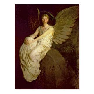 Vintage hermoso del ángel postales