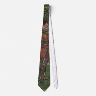 Vintage Hero Prince Knight Shining Armor Princess Tie