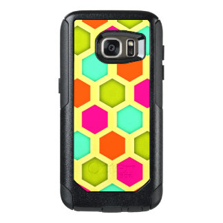 Vintage Hexagon Pattern OtterBox Samsung Galaxy S7 Case