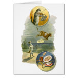 Vintage Hey Diddle Diddle Cat, Fiddle, Cow, Moon Greeting Card