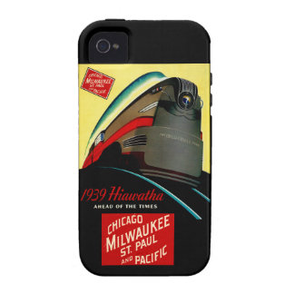 Vintage Hiawatha Streamlined Train Case For The iPhone 4