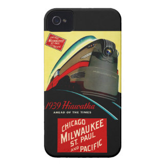 Vintage Hiawatha Streamlined Train iPhone 4 Case-Mate Case
