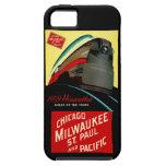 Vintage Hiawatha Streamlined Train iPhone 5 Cover