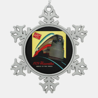 Vintage Hiawatha Streamlined Train Ornament