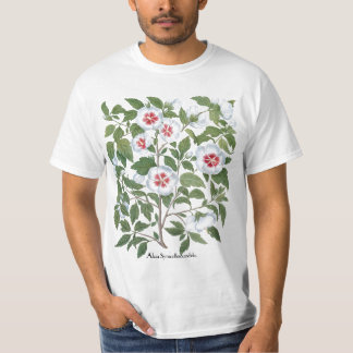 Vintage Hibiscus Flowers by Basilius Besler T-Shirt