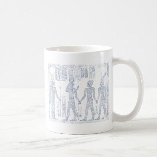Vintage Hieroglyphs Coffee Mugs