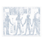 Vintage Hieroglyphs Postcard