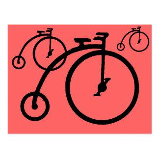 Vintage High Bike Post Cards