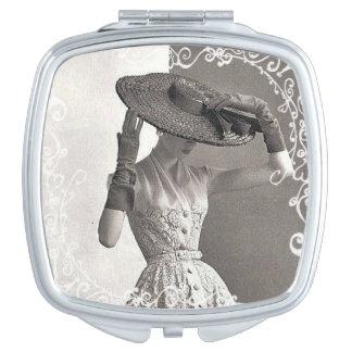 Vintage High Fashion Compact Mirror