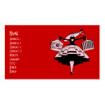 Vintage High Fashioned Shopper Business Card Template