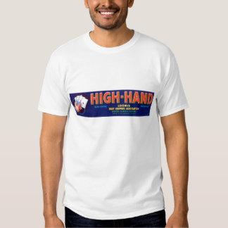 Vintage High-Hand Fruit Label Tee Shirt