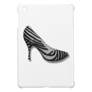 Vintage High Heel Zebra Stripe Shoes Pump iPad Mini Case