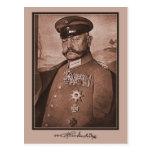 Vintage Hindenburg, decorations, autograph Postcard