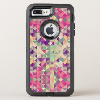 Vintage Hipsters Geometric Pattern. OtterBox Defender iPhone 7 Plus Case