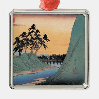 Vintage Hiroshige Japanese Christmas Ornament