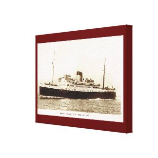 "Vintage historic ships,  ""SS Duke of York"" Canvas Prints"
