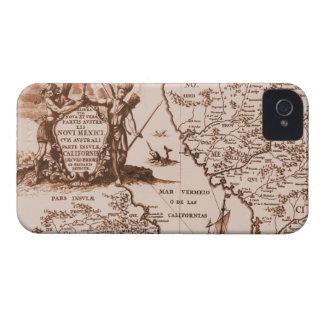 Vintage Historical Map Blackberry Bold Case