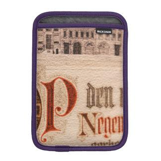 Vintage histórico del certificado de la antigüedad fundas de iPad mini