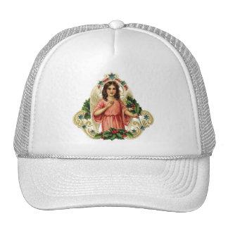 Vintage Holiday Angel Trucker Hat