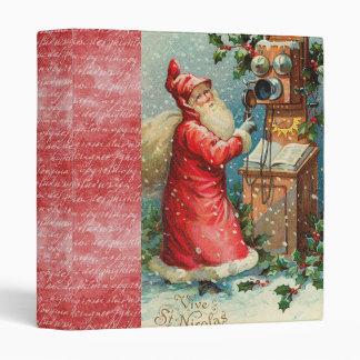 vintage holiday binder