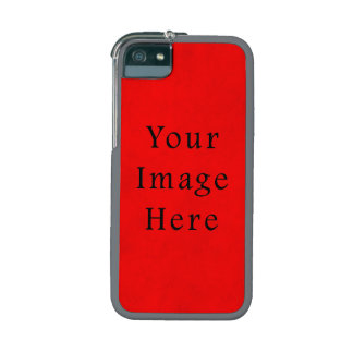 Vintage Holiday Christmas Red Parchment Paper iPhone 5 Cases