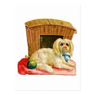 Vintage Holiday Dog Postcards