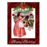 Vintage Holiday Postcard