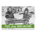 Vintage Holiday Wagon Kids Cards