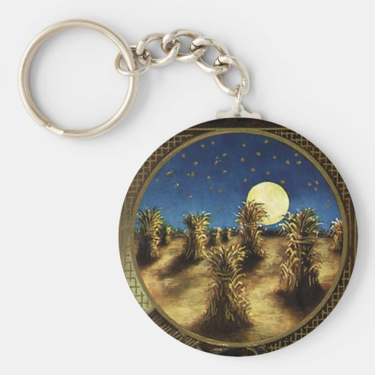 Vintage Holidays, A Glad Thanksgiving Day Keychain