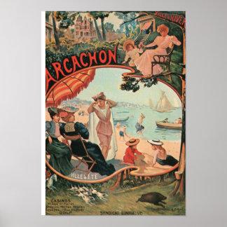 Vintage Holidays Poster