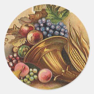 Vintage Holidys, Thanksgiving, Harvest and Pilgrim Stickers