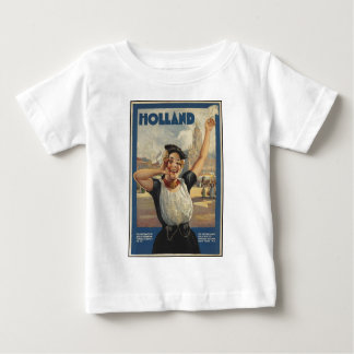 Vintage Holland Air Travel Baby T-Shirt