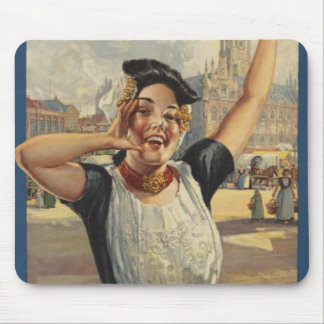 Vintage Holland Air Travel Mouse Pad