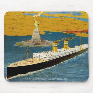Vintage Holland America Mousepad