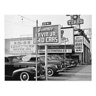 Vintage Hollywood California de la porción del Postal