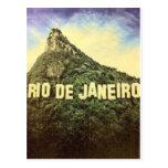 Vintage Hollywood de Río de Janeiro Postal