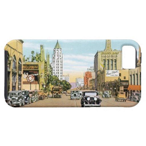 Vintage Hollywood iPhone 5 Fundas
