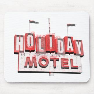 Vintage Hollywood Motel Sign Mouse Mats