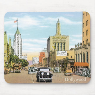 Vintage Hollywood Mouse Pad