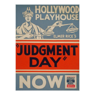Vintage Hollywood Playhouse Poster
