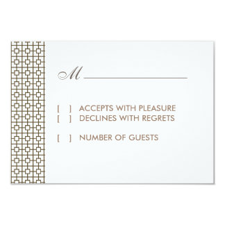 Vintage Hollywood RSVP Card Personalized Invitation